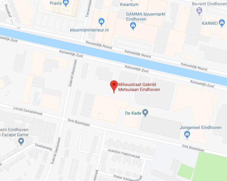 De Kade Eindhoven.Milieustraat Eindhoven Lodewijkstraat En Gabriel Metsulaan